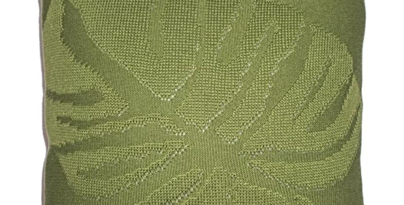 Almofada Tricot Costela de Adão