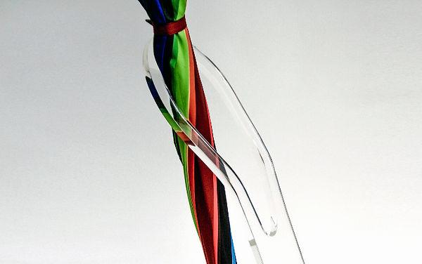 porta guarda-chuvas acrilico moderno cristal design pin dw design