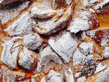 French Toast Croissant Bread Pudding