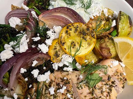 Mediterranean Inspired Grain Bowl
