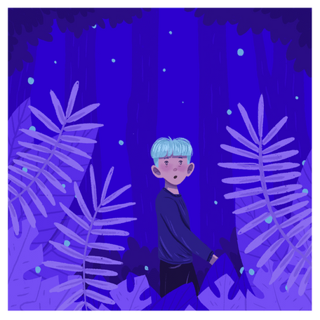 Night in the forest (2020)