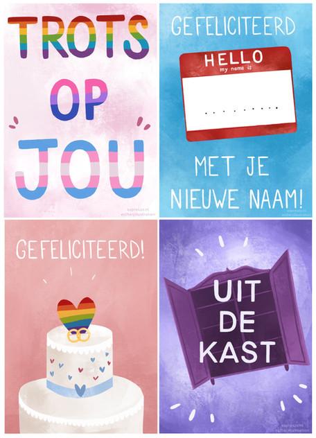 Pride kaartenset (2019)