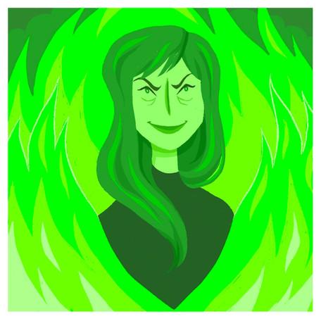 Green fire (2020)