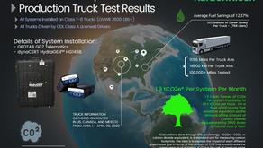 KarbonKleen Releases April Truck Report