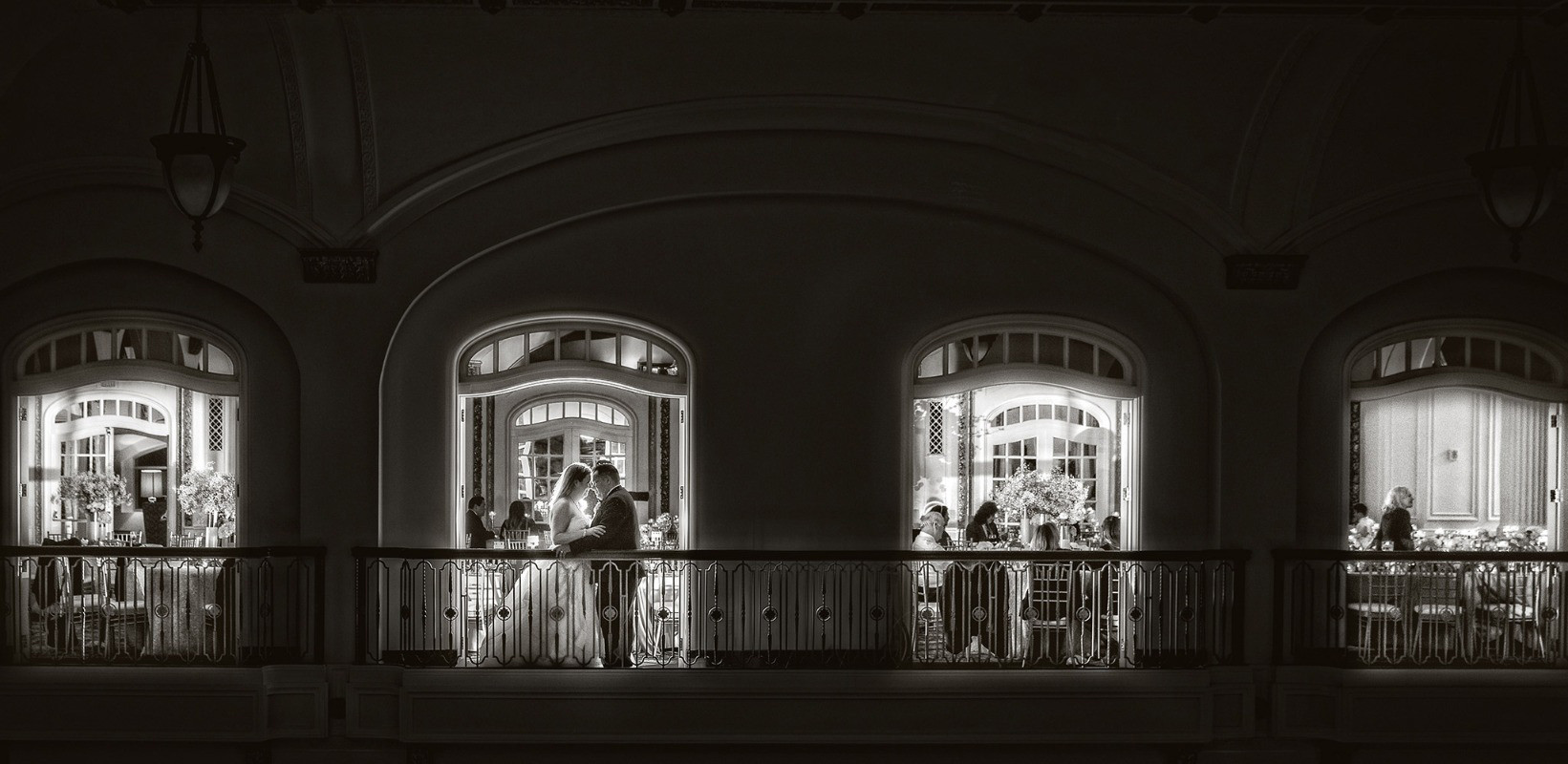 Hotel Blackhawk wedding photo