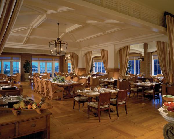 Jasmine Porch Restaurant inside The Sanctuary at Kiawah Island Golf Resort