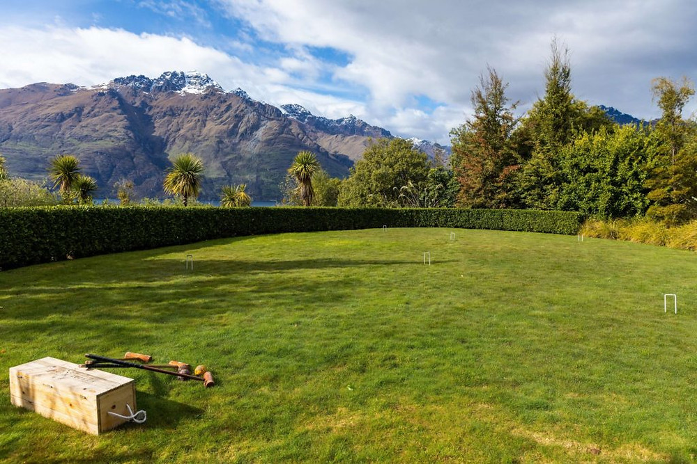 croquet at Matakauri Lodge New Zealand