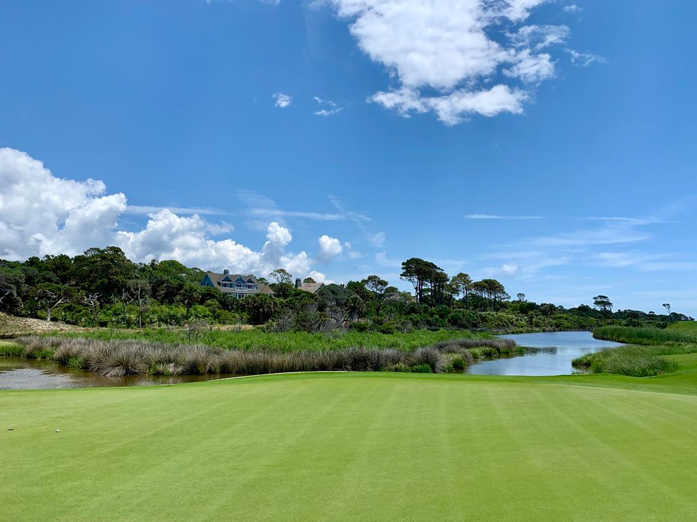 The Ocean Course golf course at Kiawah Island Golf Resort in South Carolina. Home of the 2021 PGA Tour.