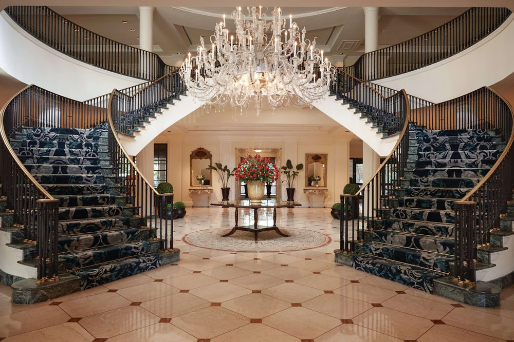 Belmond Charleston Place Grand Lobby Staircase
