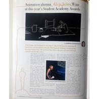 InMotion Magazine | Animation Alumna Alicja Jasina wins at this year's Student Academy Awards
