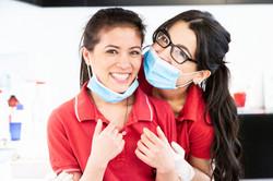 Das Prophylaxe Team für Medizinische Zahnreinigung in Wiesbaden Mainz