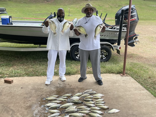 Fighting finicky Crappie