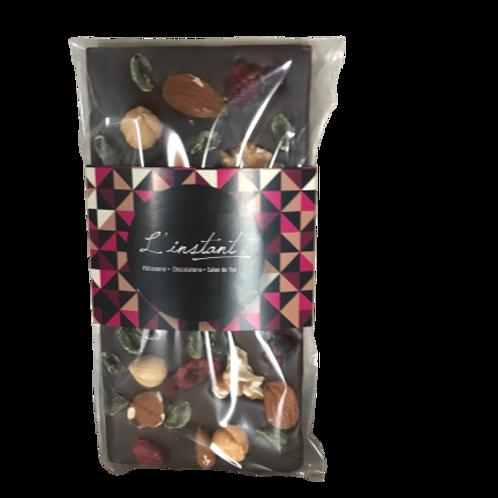 Tablette chocolat Mendiants 100 gr