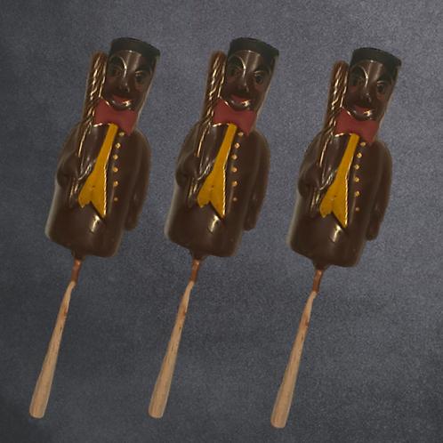 Sucettes chocolats Guignol