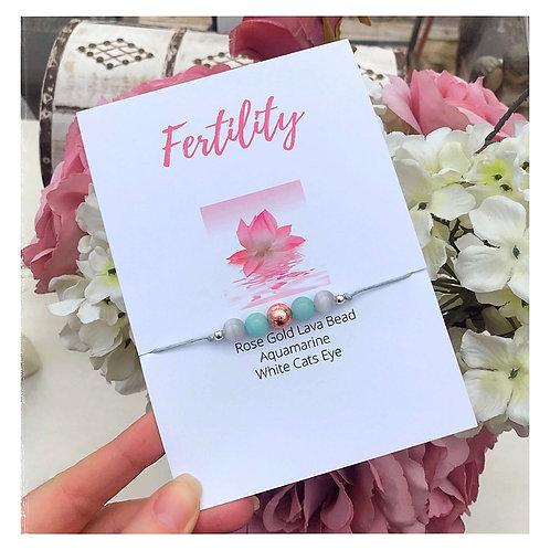 Mixed Semi Precious Fertility Bracelet