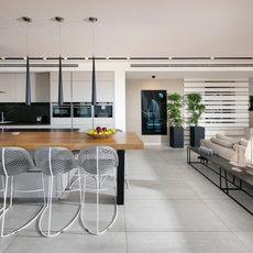 עיצוב דירת פנטהאטוז בכרמל-חיפה