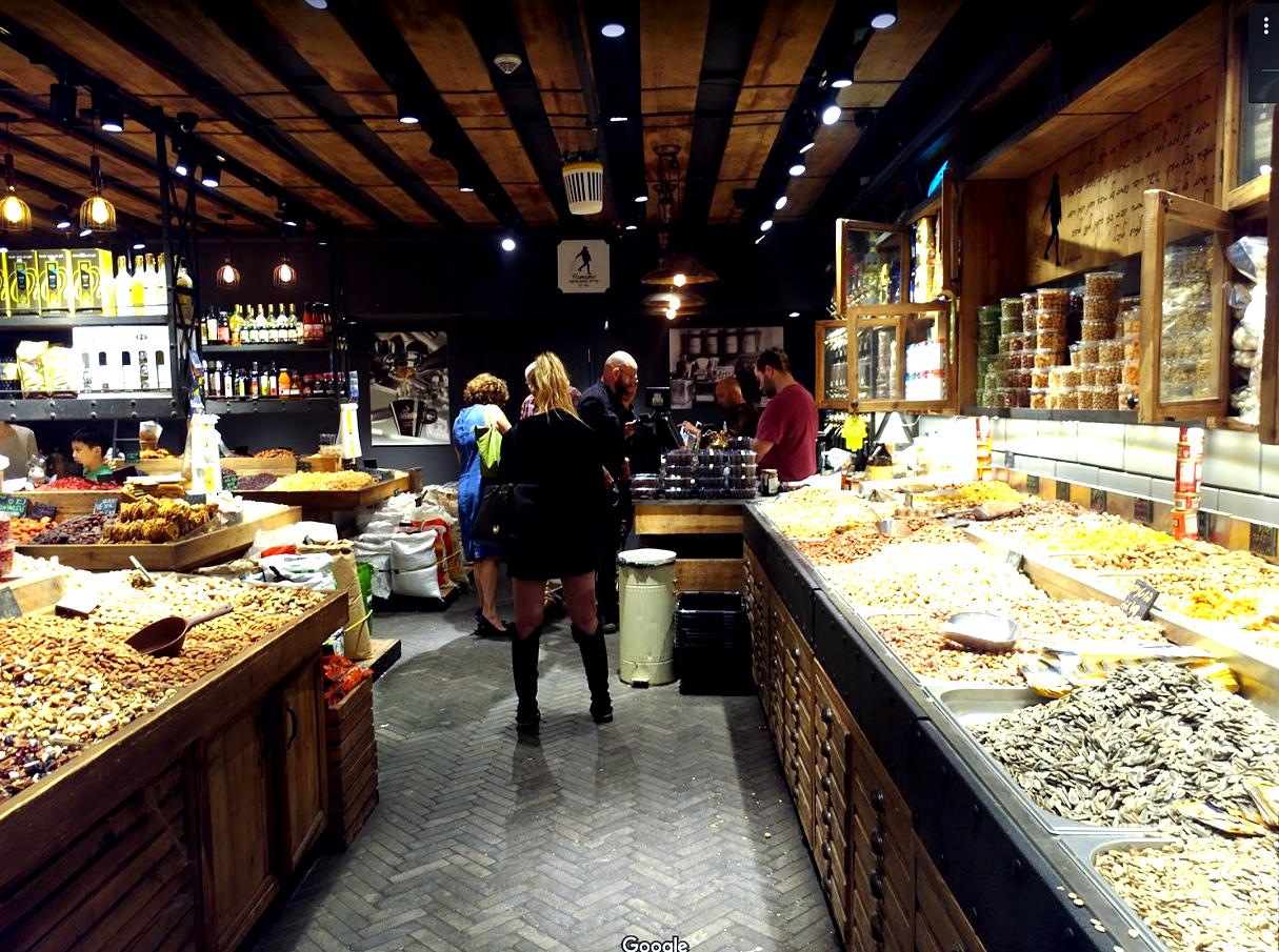 עיצוב חנות תבלינים- שרונה מרקט