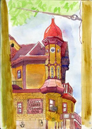 An Classic Savannah Building