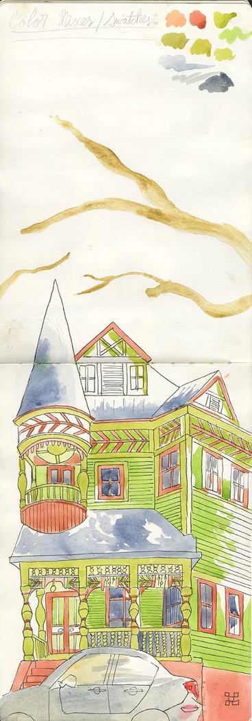 Big Rock Candy House