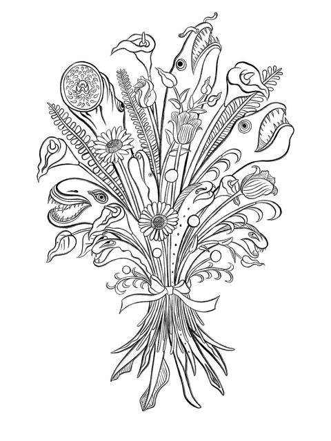Monster Bouquet 1