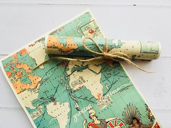 Invitatie map roll