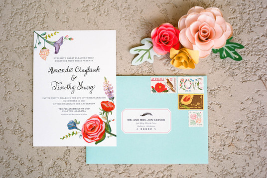 Personalizarea invitatiilor de nunta