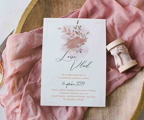 Invitatie abstract modern