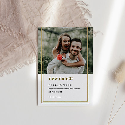 Save the date frame