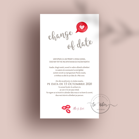 card save the date