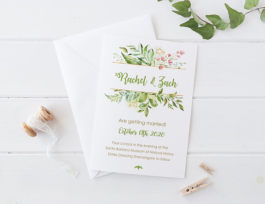 Invitatie living green