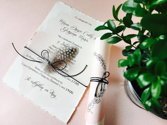 Modele invitatii de nunta