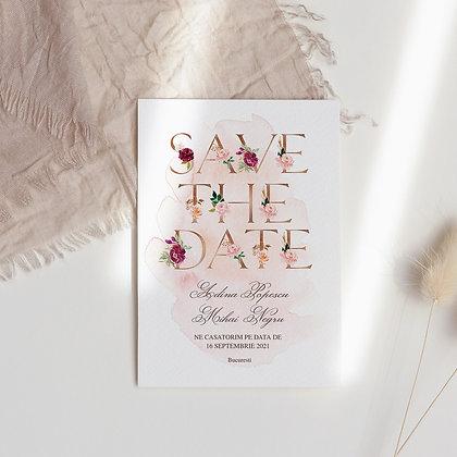 Save the date blush