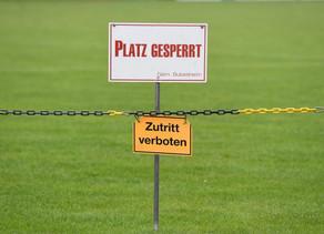 Weder Trainings- noch Spielbetrieb bis zum 15.06.2020 in Würtemberg