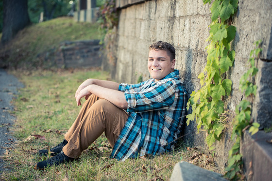 Senior Pictures on Mt. Hope
