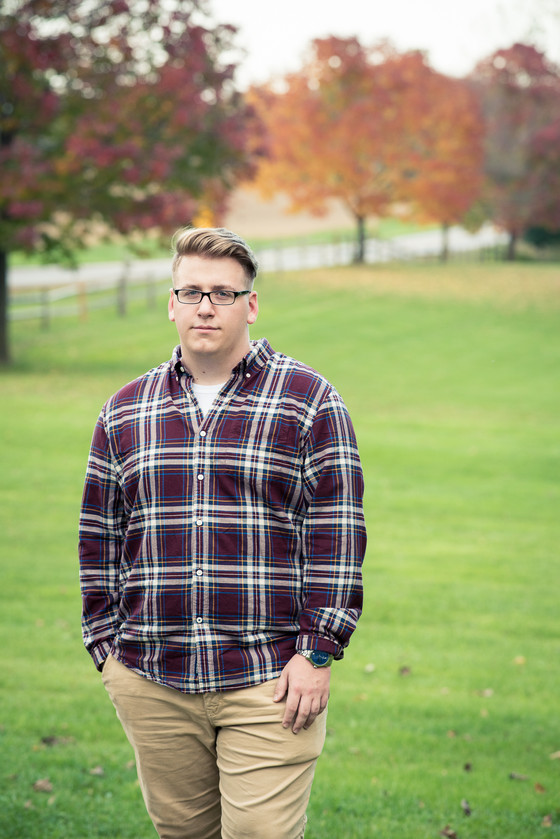 Senior Pictures at Tinker Nature Park