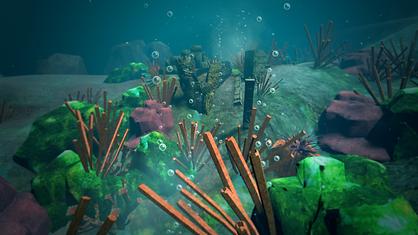 underwater -immersive cardio-vr fitness