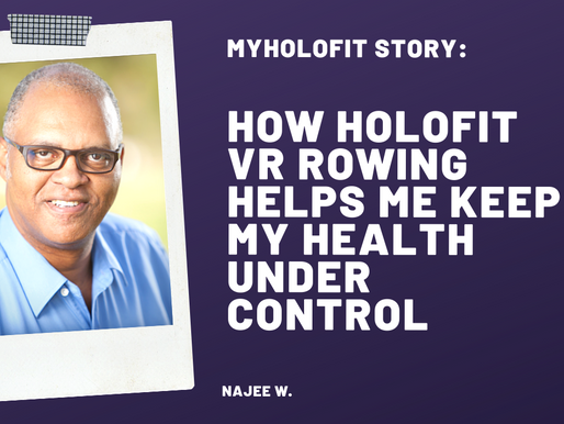 How HOLOFIT Helps Me Keep My Health Under Control