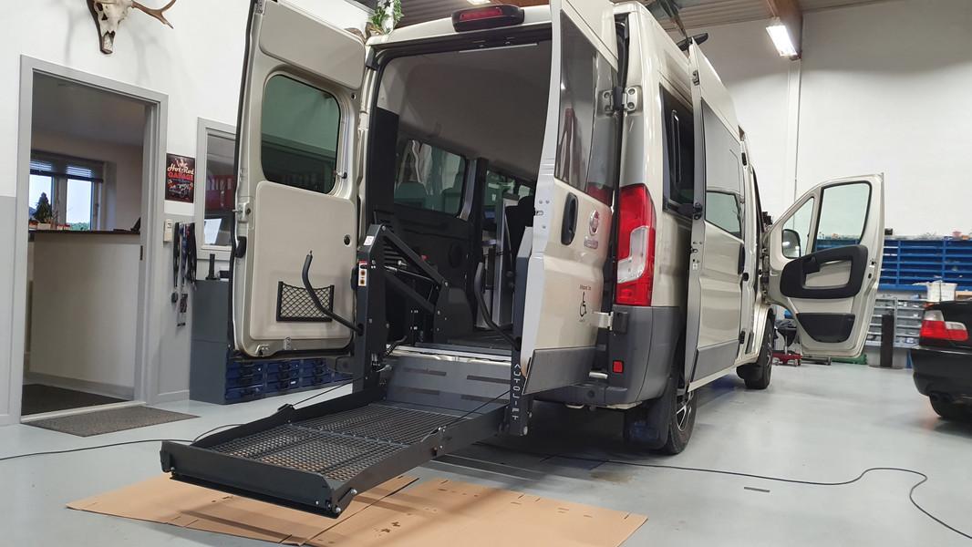 Autolift monteret