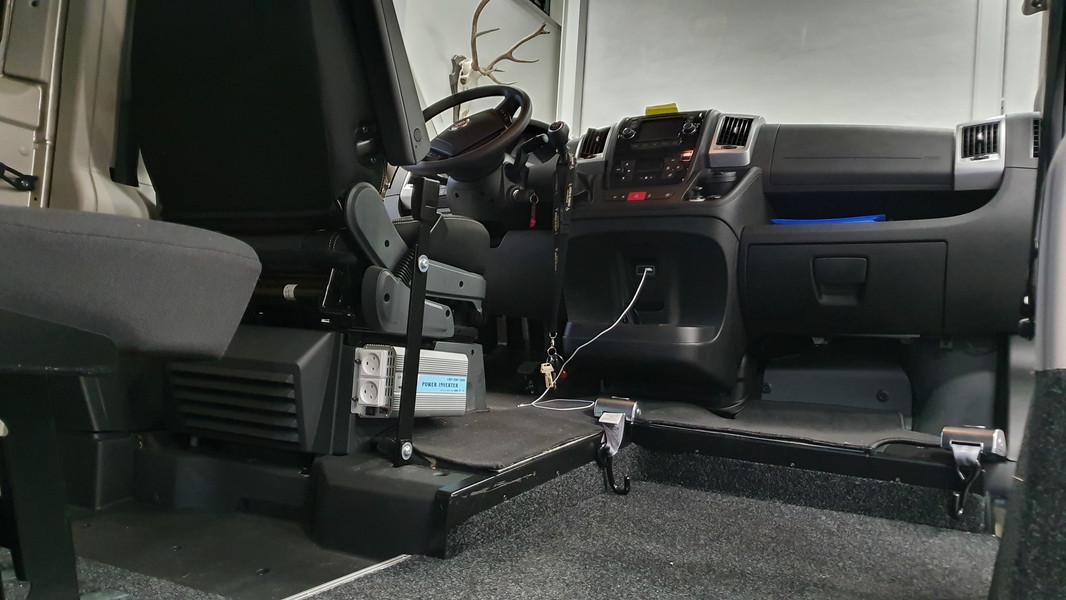Montering af Inverter 220 Volt