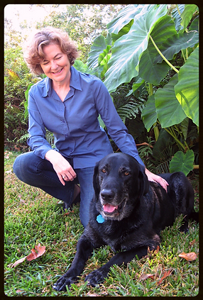 Ashley Mace Havird, Author. And Davidson, the Best Dog in the World.