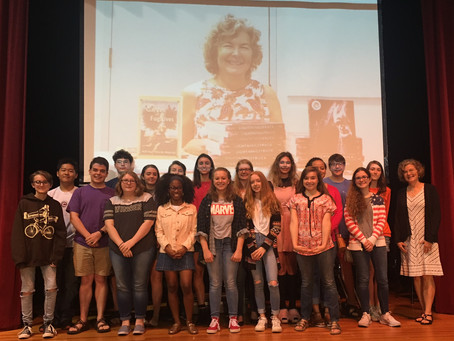 Mary Jane Malone Lecturer: Caddo Magnet High School, Oct. 10, 2017
