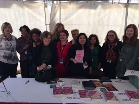 Nasty Women Poets at the Louisiana Book Festival, Oct. 28, 2017