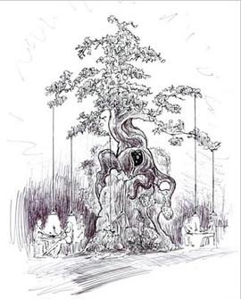 RESTAURANT TREE DESIGN