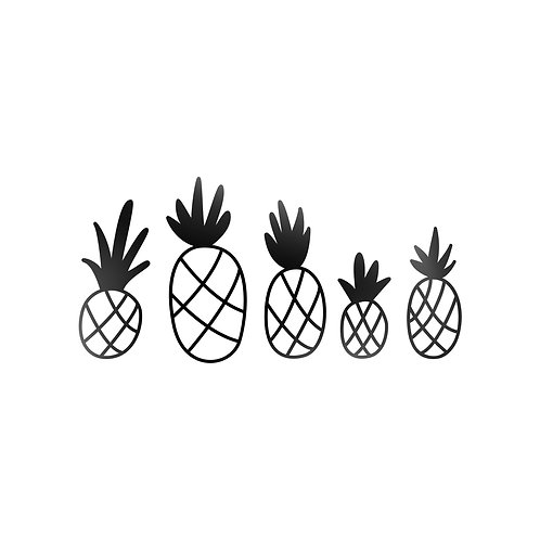 Pineapples Decal