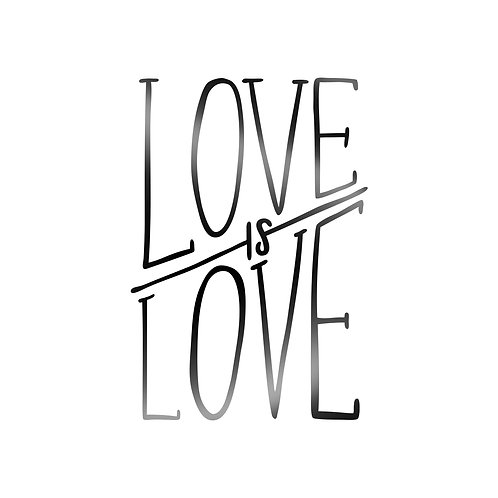 Love Is Love Decal
