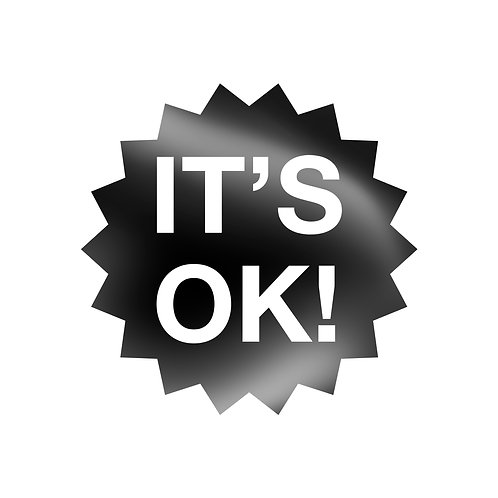 It's Ok! Decal