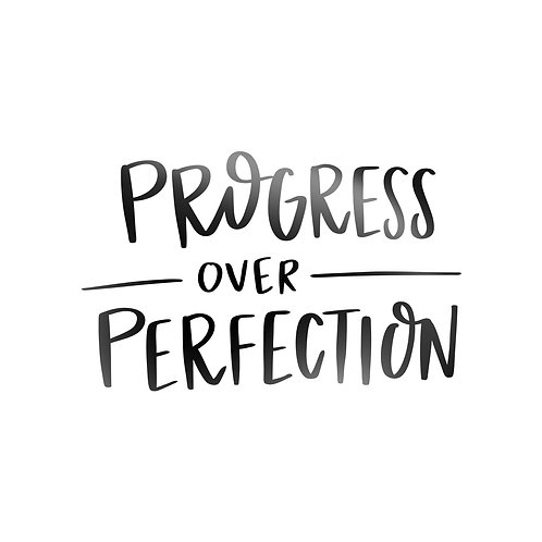 Progress Over Perfection Decal