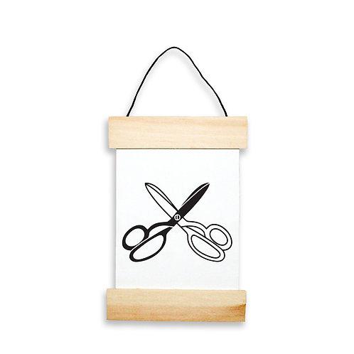 Scissors Hanging Banner