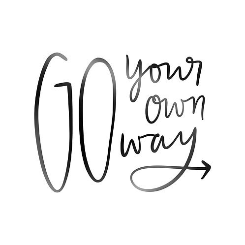 Go Your Own Way Decal