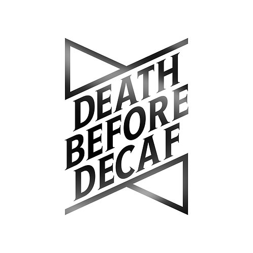 Death Before Decaf Decal